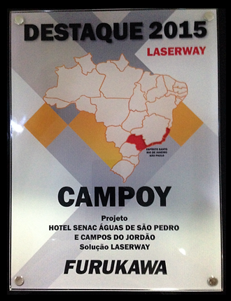A Campoy Tecnologia é agraciada com prêmio destaque em projeto pela Furukawa