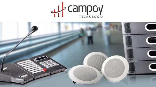 Sistema de sonorização digital e alarme por voz