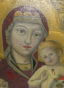 la vierge et Jesus