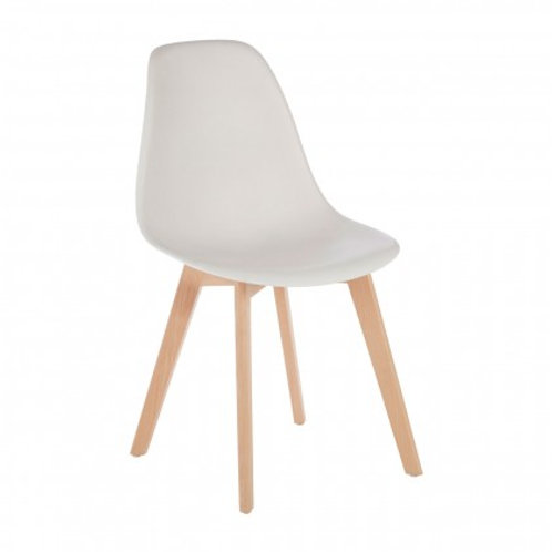 Nordic white chair