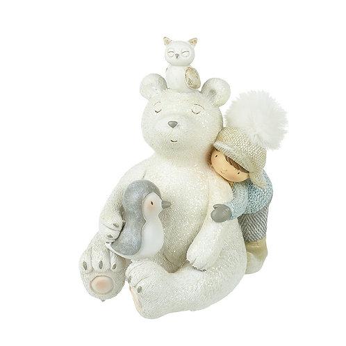 Bear With Friends Decor