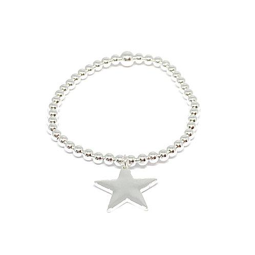 Katie Star Bracelet - Silver