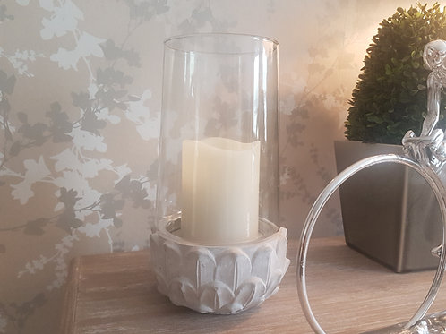 Leaf Base Candleholder