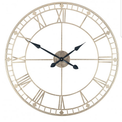 Large gold clock