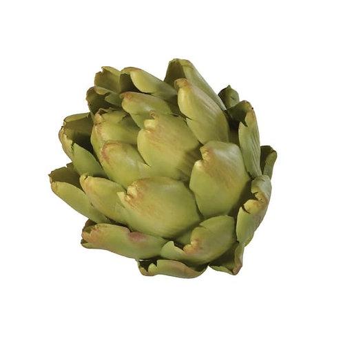 Decorative green artichoke