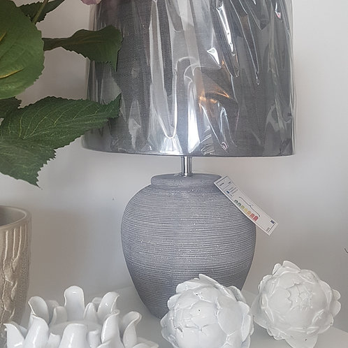 Distressed stone effect lamp
