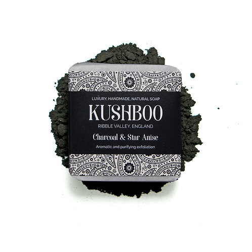 Charcoal & Star Anise luxury soap
