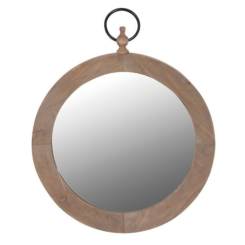 Round Mirror with Hanging Ring