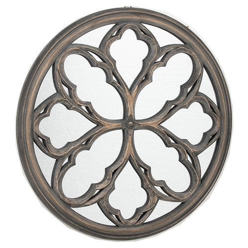 Circular Grey Wash Avery Mirror