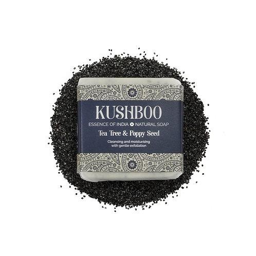 Tea Tree & Poppy Seed Luxury Soap