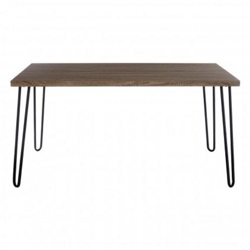 Hair pin leg dining table