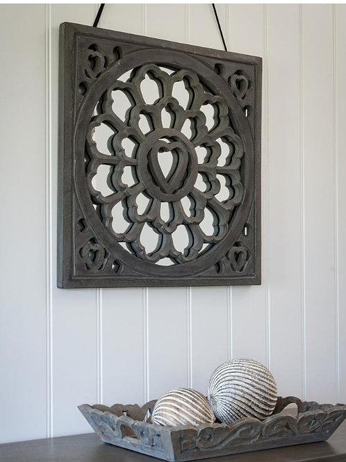Grey mirror panel