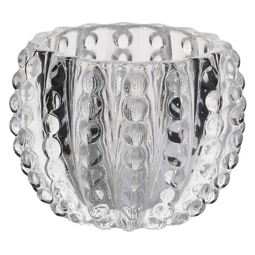 Faux Urchin Glass Candle holder
