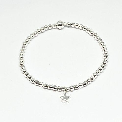 Maisy Mini Star Bracelet - Silver