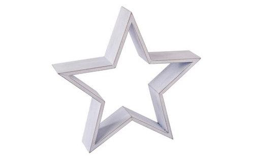 Large white star