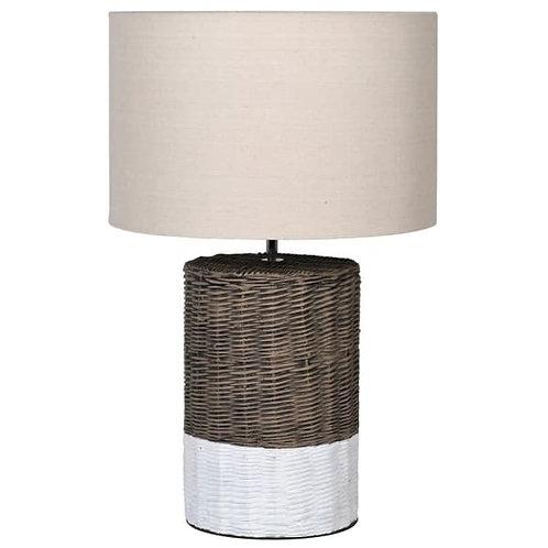 Basket effect lamp