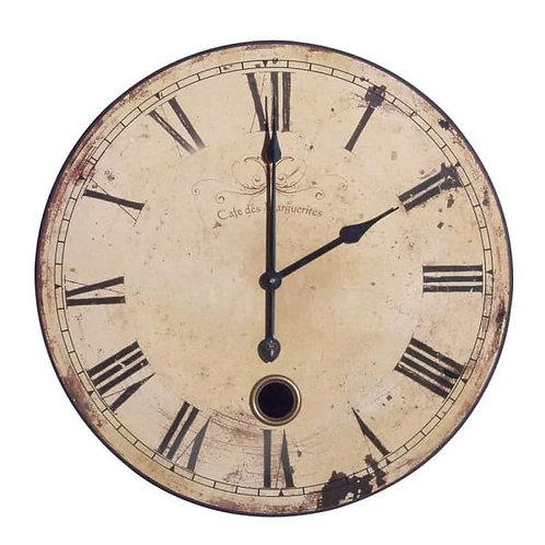 Round French Clock