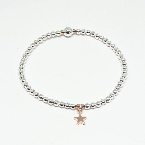 Maisy Mini Star Bracelet - Rose Gold