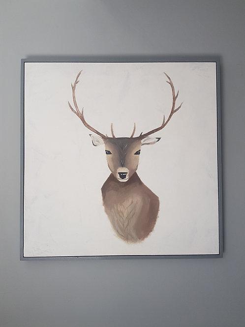 Stag painting original