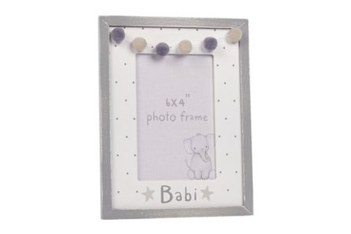 Welsh baby photo frame