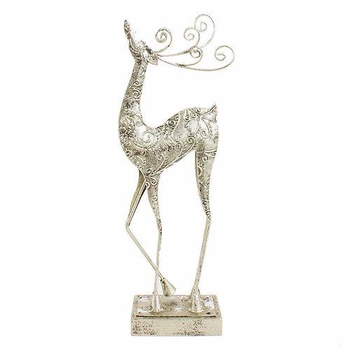 Metal Standing Reindeer Small