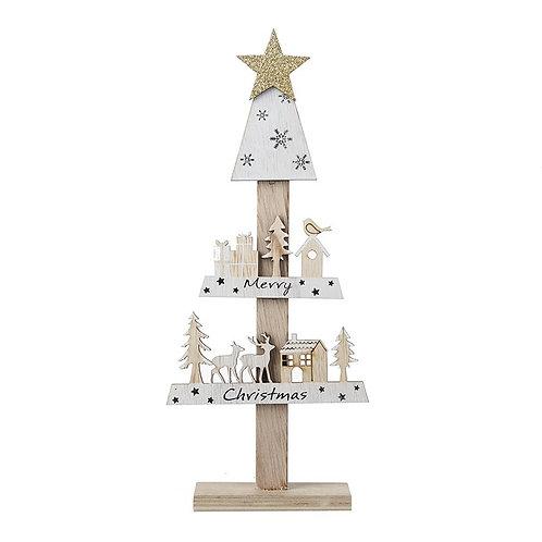 Merry Christmas Tree Shape Stand
