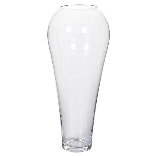 Small tapered glass vase