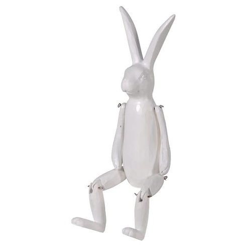 Shelf sitting hare