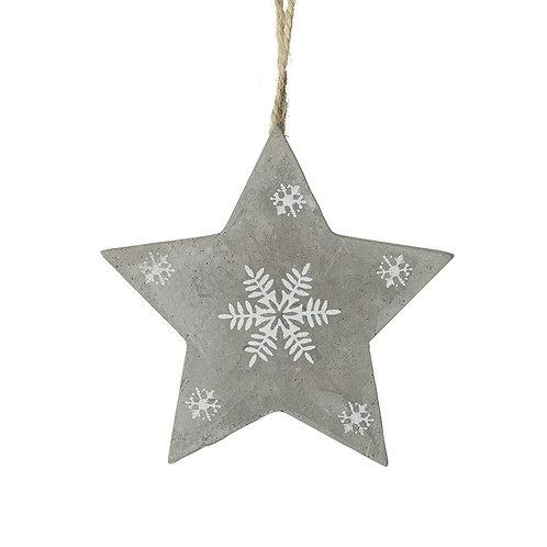 Cement star hanger