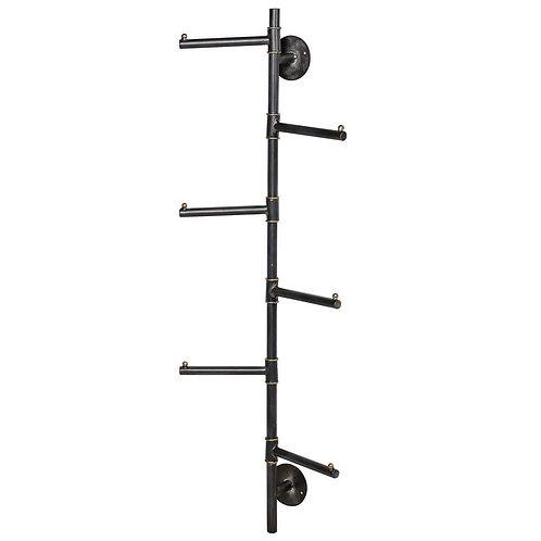6 Prong Vertical Coat Rack