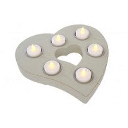 Heart t light holder