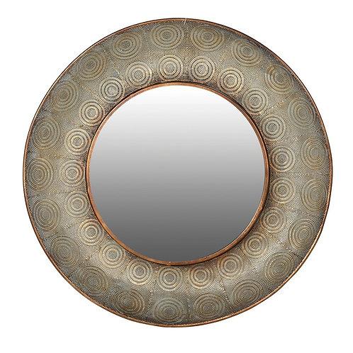 Mesh Round Wall Mirror