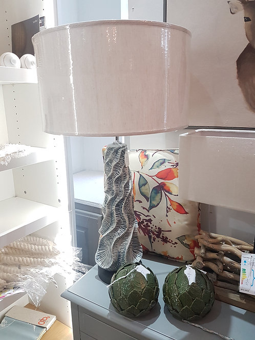 Coral style lamp