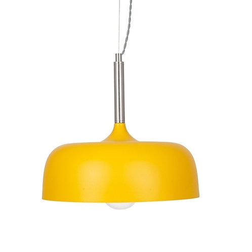 Matt mustard Dome pendant by Pacific