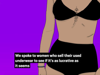 "Metro featured – ""Women who sell their used underwear"" - Misssmithxxx"