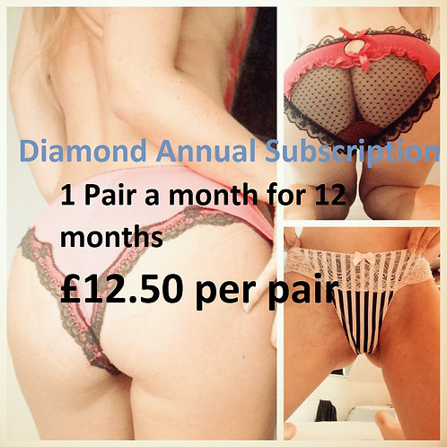 Discount lace cotton and satin used panties from UK pantyseller misssmithxxx