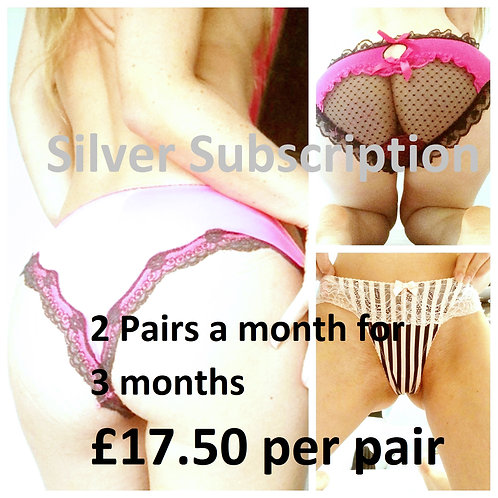 Discount used panties from UK pantyseller misssmithxxx