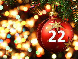 22nd December- Advent Day 22- 50% off all pre-recorded videos
