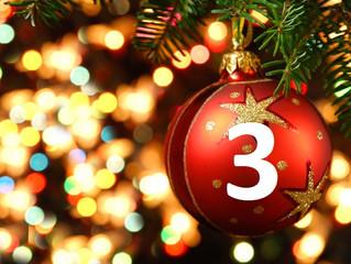 3rd December – Advent Day 3 – Free International Postage