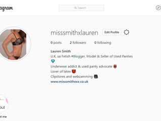 Selling Used Panties on Instagram- New Account