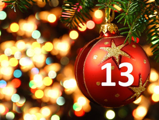13th December- Advent Day 13- Free Collect Plus Postage