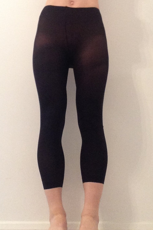 BLACK FOOTLESS DANCE TIGHTS