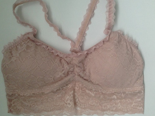 BABY PINK LACE BRALET