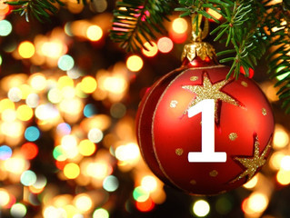 1st December – Advent Day 1- £5 off all orders