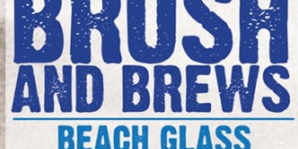 Brush & Brews: Beach Glass Wind Chime Class
