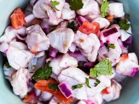Barramundi & Red Onion Ceviche