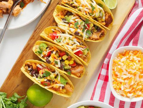 Barramundi Tacos with Avocado Tomato Salad