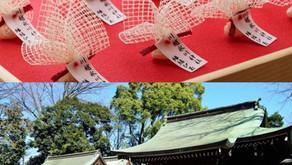 川越氷川神社の縁結び玉♪埼玉★出張マッサージ委員会Zはご縁を大事にしております。