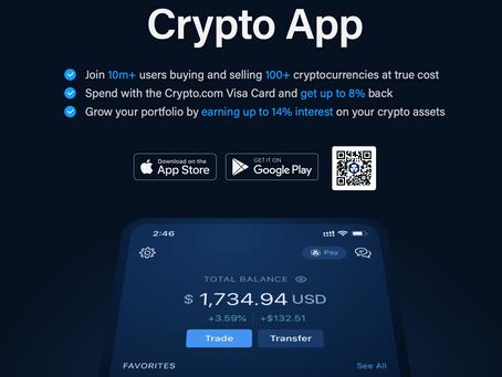 تتعاون Visa مع Crypto.com للسماح بتسوية معاملات Fiat على Ethereum , ابدا باستثمار في شركة Crypto.com
