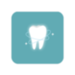 brightened, pearly white tooth